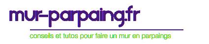 Logo mur parpaing